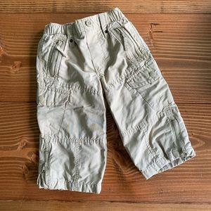 BABYGAP Lined Nylon Blend Cargo Pants 12-18m